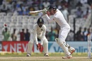 Keaton Jennings scored 54 in his fourth Test innings, India v England, 5th Test, Chennai, 5th day, December 20, 2016