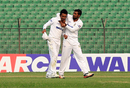 Nazmul Islam (right) picked up 3 for 46, Dhaka Metropolis v Dhaka Division, National Cricket League, 1st day, December 20, 2016