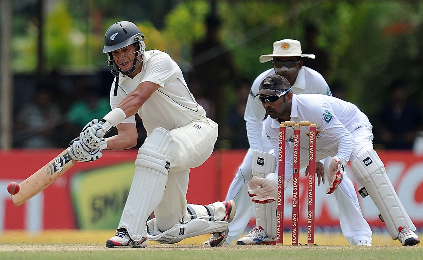 In the Colombo Test, the last one before he lost his captaincy, Taylor scored 142 and 74 in New Zealand's first Test win in Sri Lanka in 14 years