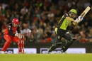 Peter Nevill misses a stumping chance against Ben Rohrer, Melbourne Renegades v Sydney Thunder, Big Bash League 2016-17, Melbourne, December 22, 2016