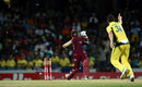 Josh Hazlewood bowls Denesh Ramdin, West Indies v Australia, ODI tri-series final, Barbados, June 26, 2016