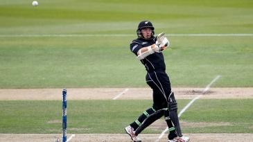 Tom Latham pulls behind square