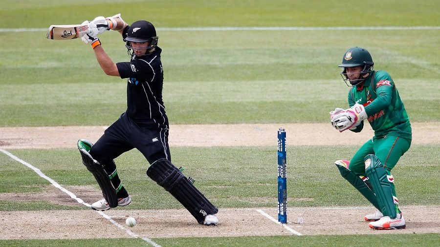Latham, Broom and Taylor lift NZ to 270