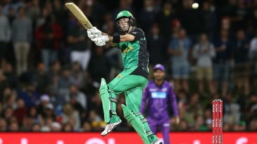 Glenn Maxwell hooks his way out of a short ball