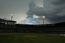 Storm clouds make an appearance, Australia v Pakistan, 2nd Test, 4th day, Melbourne, December 29, 2016
