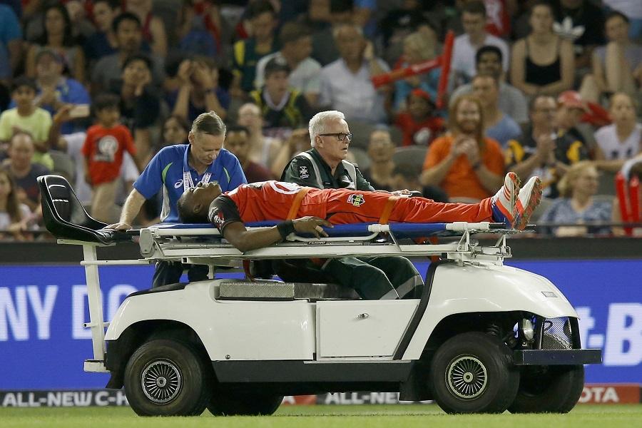 Dwayne Bravo out of IPL with hamstring injury