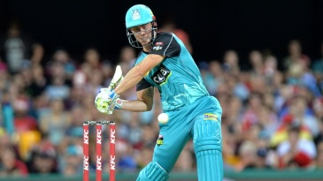 Chris Lynn prepares to smash one