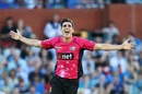 Sean Abbott finished 2016 with a five-for, Adelaide Strikers v Sydney Sixers, Big Bash League, Adelaide, December 31, 2016