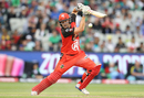 Cameron White drives during his unbeaten 64, Melbourne Stars v Melbourne Renegades, Big Bash League 2016-17, Melbourne, January 1, 2017