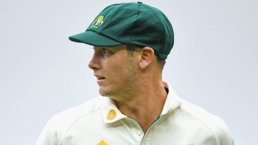 Hilton Cartwright on the field during the Melbourne Test