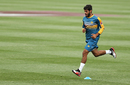 Mohammad Asghar goes through the paces at a training session, Sydney, January 2, 2017