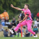 Nick Winter spearheaded the Northern Districts bowling, Canterbury v Northern Districts, Super Smash, Christchurch, January 2, 2017