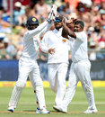 Rangana Herath removed Faf du Plessis shortly before tea, South Africa v Sri Lanka, 2nd Test, Cape Town, January 2, 2017