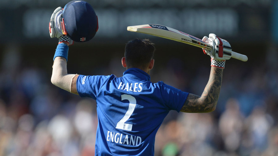 Alex Hales scored 171