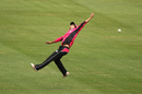 Lisa Sthalekar attempts to take a catch, Sixers v Hurricanes, Women's Big Bash League, Sydney, December 29, 2016