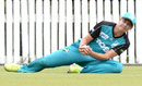 Delissa Kimmince completes a catch, Brisbane Heat v Melbourne Stars, Women's Big Bash League 2016-17, Brisbane, December 27, 2016
