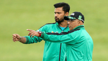 Mashrafe Mortaza and Chandika Hathurusingha ahead of the game