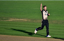 Matt Henry celebrates a wicket, New Zealand v Bangladesh, 1st T20I, Napier, January 3, 2017