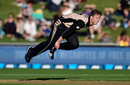 Lockie Ferguson in action, New Zealand v Bangladesh, 1st T20I, Napier, January 3, 2017