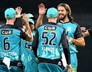 Nick Buchanan returned to full-time cricket after a two-year absence, Brisbane Heat v Sydney Sixers, Big Bash League 2016-17, Brisbane, January 3, 2017