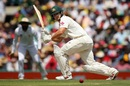 Hilton Cartwright nudges one towards square leg, Australia v Pakistan, 3rd Test, Sydney, 2nd day, January 4, 2017
