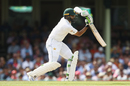 Azhar Ali drives on the up, Australia v Pakistan, 3rd Test, Sydney, 2nd day, January 4, 2017