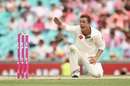 Steve O'Keefe appeals for the wicket of Asad Shafiq, Australia v Pakistan, 3rd Test, Sydney, 3rd day, January 5, 2017