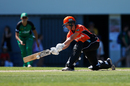 Elyse Villani plays a sweep shot, Melbourne Stars v Perth Scorchers, Women's Big Bash League 2016-17, Melbourne, January 5, 2017