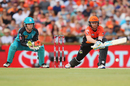 Ian Bell shapes up for a reverse sweep, Scorchers v Heat, Big Bash League 2016-17, Perth, January 5, 2017