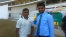 Prithvi Shaw and Amol Muzumdar pose for a photo, Mumbai v Tamil Nadu, Ranji Trophy semi-final, day 5, January 7, 2017