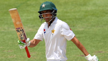 Younis Khan extended Australia's hard work