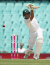Younis Khan drives down the ground, Australia v Pakistan, 3rd Test, Sydney, 4th day, January 6, 2017