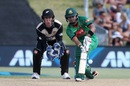Sabbir Rahman scooped a six over short fine leg, New Zealand v Bangladesh, 2nd T20I, Mount Maunganui, January 6, 2017