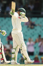 Usman Khawaja celebrated his half-century with a dab, Australia v Pakistan, 3rd Test, Sydney, 4th day, January 6, 2017