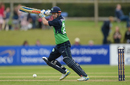 Ed Joyce drives though the off side, Ireland v Sri Lanka, 1st ODI, Dublin, 16 June 2016