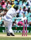Asad Shafiq was dismissed in the fifth over after lunch, Australia v Pakistan, 3rd Test, Sydney, 5th day, January 7, 2017