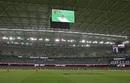 The Jumbotron hangs off the Docklands stadium roof, Melbourne Renegades v Melbourne Stars, Women's Big Bash League 2016-17, Melbourne, January 7, 2017