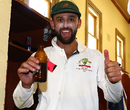 Nathan Lyon was visibly pleased after the win, Australia v Pakistan, 3rd Test, Sydney, 5th day, January 7, 2017