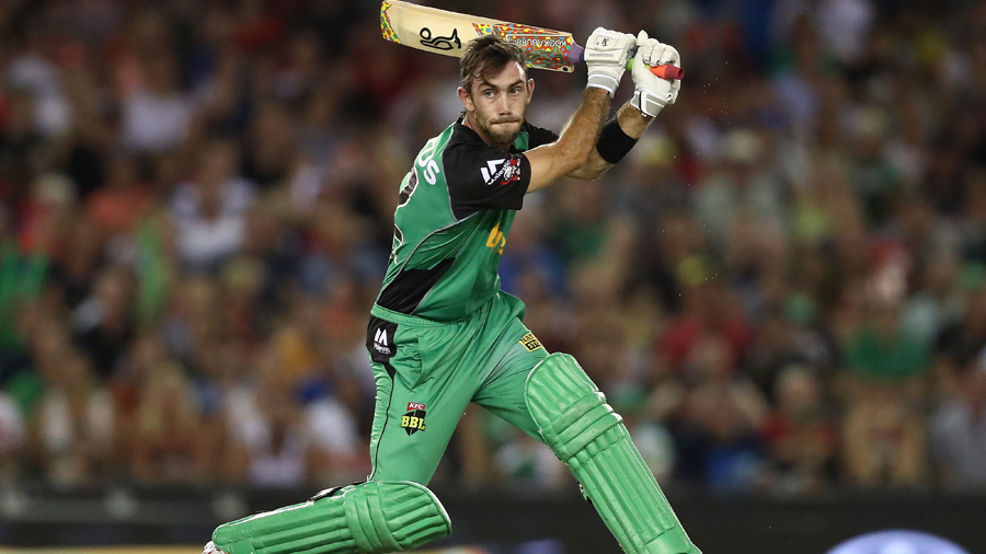 Glenn Maxwell slices through point