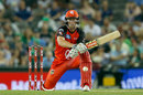 Cameron White prepares to reverse sweep, Melbourne Renegades v Melbourne Stars, Big Bash League 2016-17, Melbourne, January 7, 2017