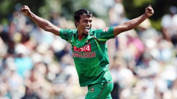 Rubel Hossain's double-strike jolted the hosts