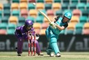 Beth Mooney struck an unbeaten 78 off 60 balls, Hobart Hurricanes v Brisbane Heat, Women's Big Bash League 2016-17, Hobart, January 8, 2016