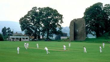 A village cricket match in Wales