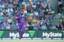 George Bailey remained not out on 69 off 54 deliveries, Hobart Hurricanes v Sydney Thunder, BBL 2016-17, Hobart, January 8, 2017