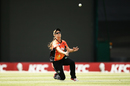 Katie Hartshorn attempts to take a catch, Sydney Sixers v Perth Scorchers, Women's Big Bash League 2016-17, Sydney, January 9, 2017