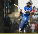 Yuvraj Singh struck six fours and two sixes in his knock of 56, India A v England XI, Mumbai, January 10, 2017