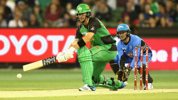 Kevin Pietersen plays a scoop