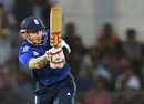 Alex Hales tucks the ball to the leg side, India A v England XI, Mumbai, January 10, 2017