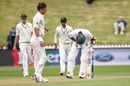 Mahmudullah took a blow to the box, New Zealand v Bangladesh, 1st Test, Wellington, 1st day, January 12, 2017
