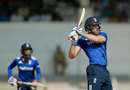 David Willey plays a pull shot, India A v England XI, Mumbai, January 12, 2017